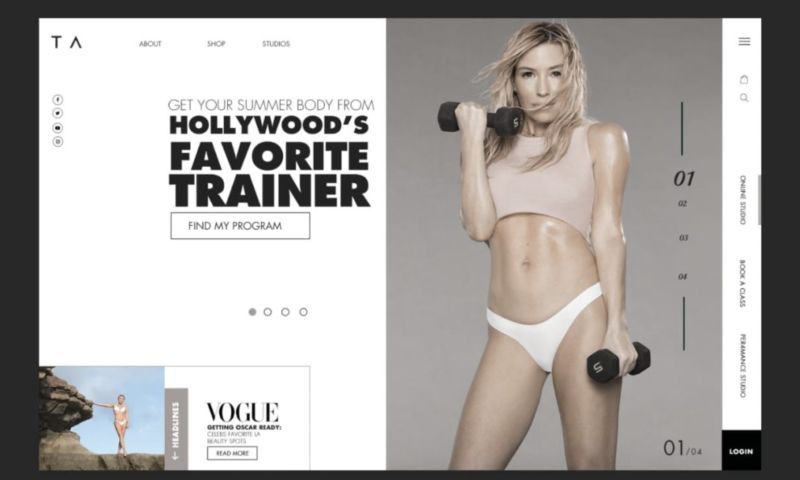 Dos Mundos Creative - Tracy Anderson Method // Full Service Client