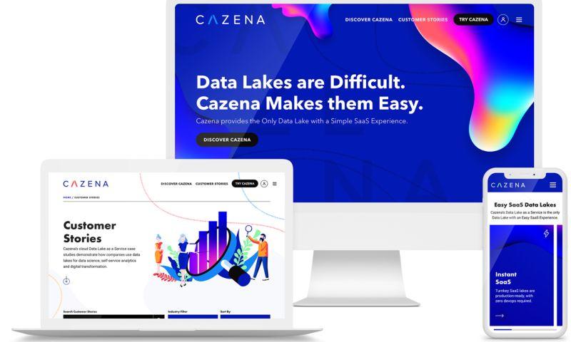 GoingClear - Enterprise Data Lake SaaS Business Website Redesign