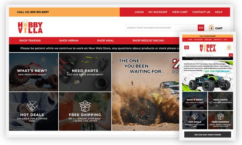 WebDesk Solution LLC - Hobbyvilla