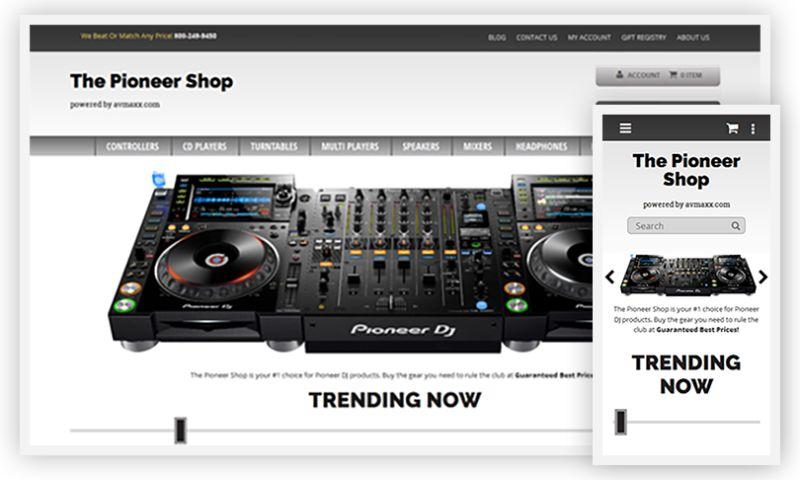 WebDesk Solution LLC - The Pioneer Shop