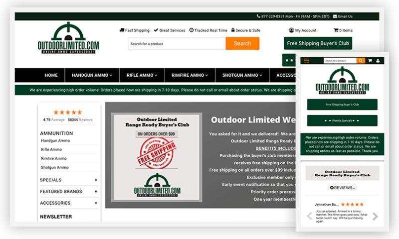 WebDesk Solution LLC - Outdoorlimited.com