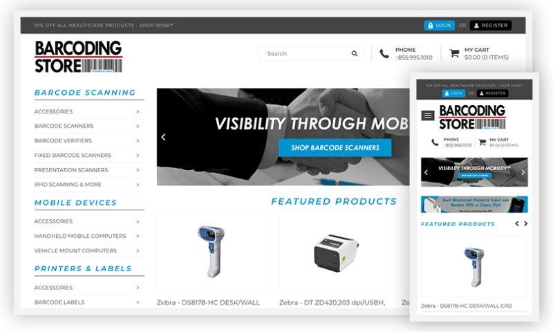 WebDesk Solution LLC - Barcoding Store