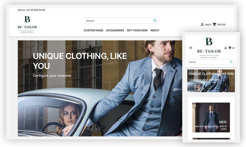 WebDesk Solution LLC - Be-Tailor