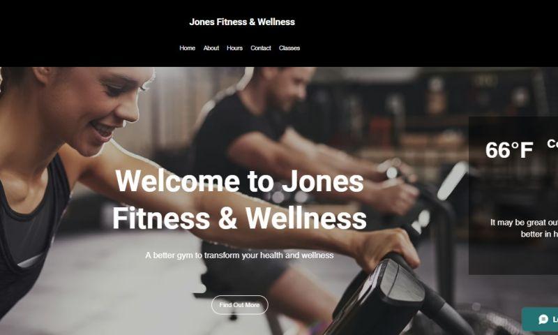 ProStrategix Consulting - Jones Fitness & Wellness