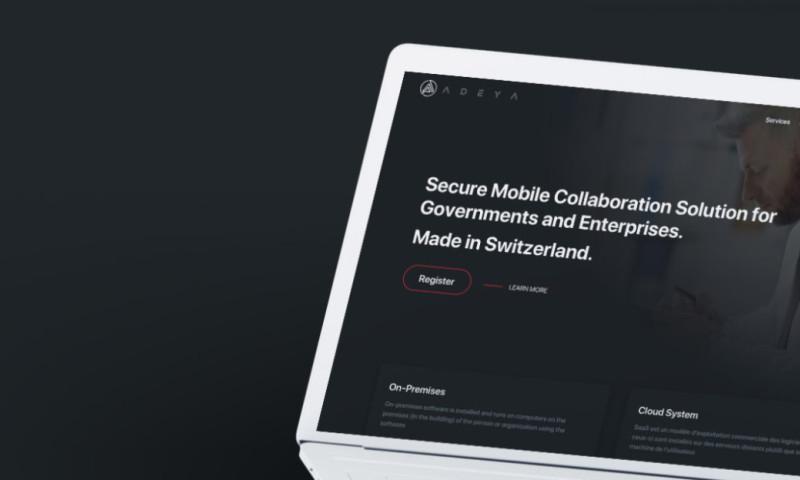 Coteries SA - Website and digital marketing for Adeya