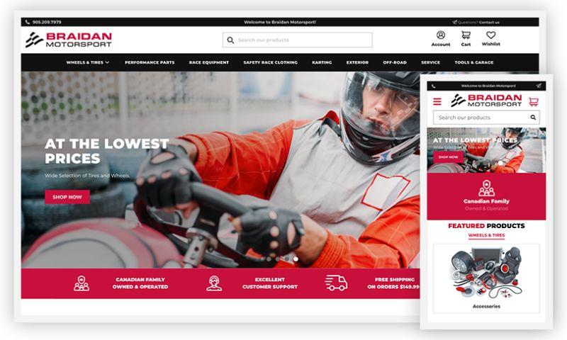 WebDesk Solution LLC - Braidan Motorsport