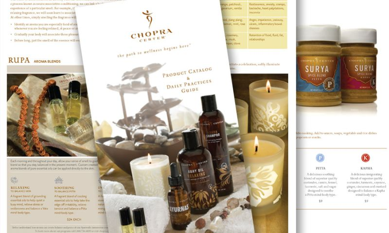 Deal Design - Chopra Product Catalog Design