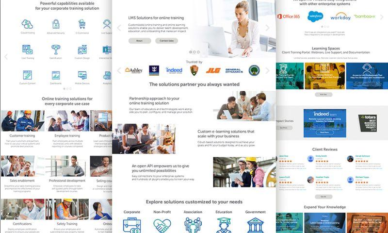 Deal Design - Remote Learner Website Design