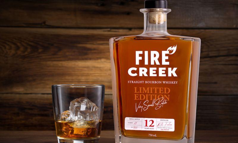 Deal Design - Fire Creek Bourbon Packaging Design