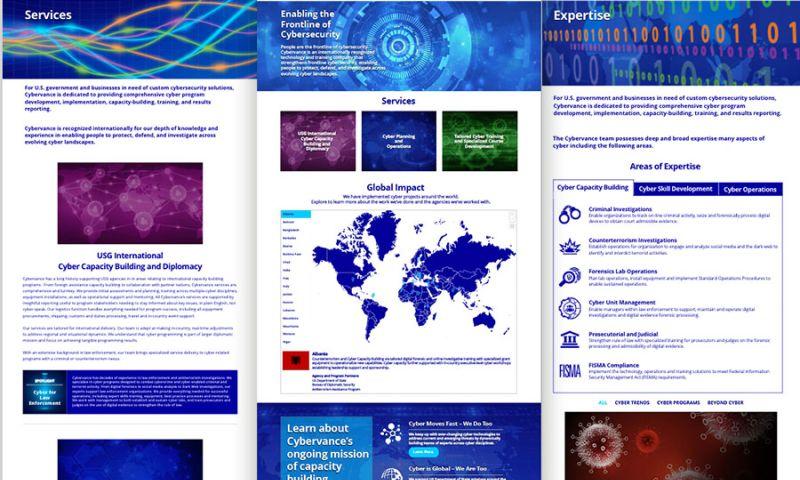 Deal Design - Cybervance Website Design