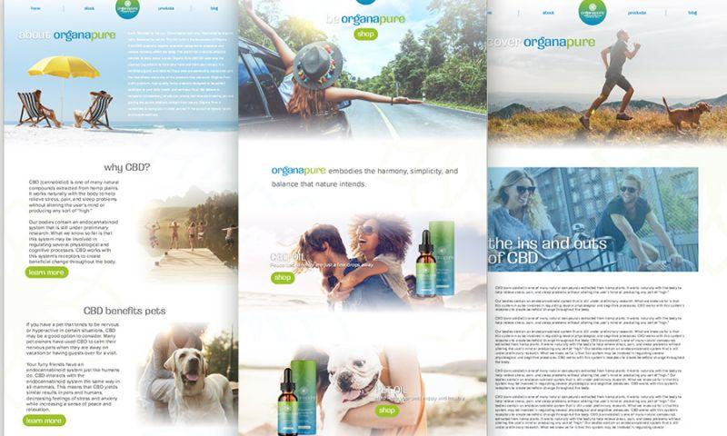 Deal Design - Organapure Website