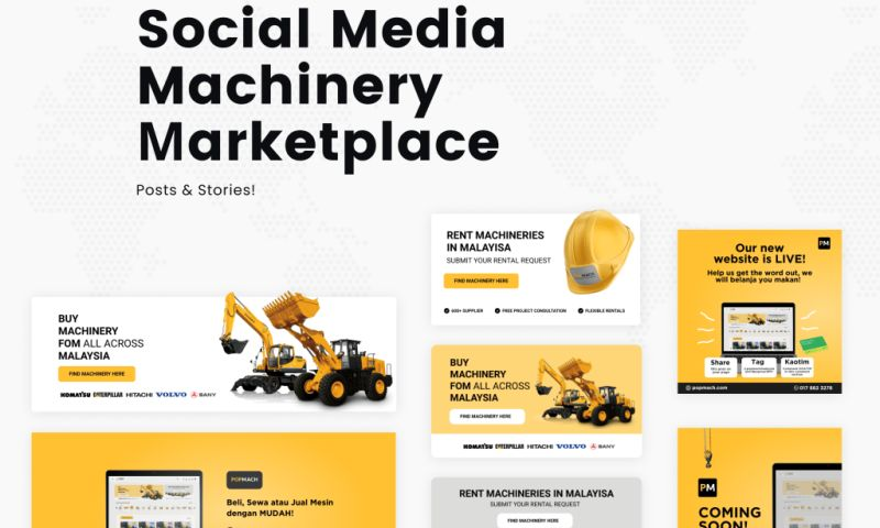 Visual Side - Machinery Platform Social Media