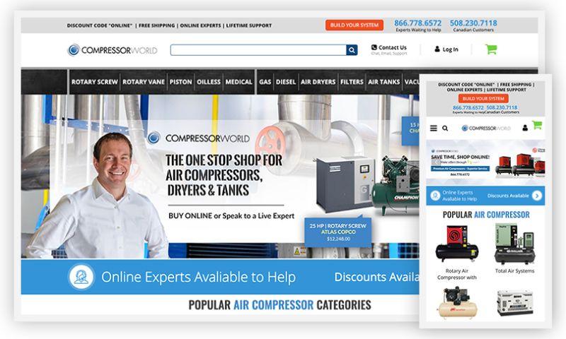 WebDesk Solution LLC - Compressor World