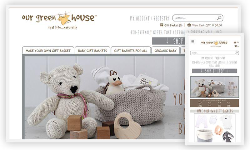 WebDesk Solution LLC - Our Green House