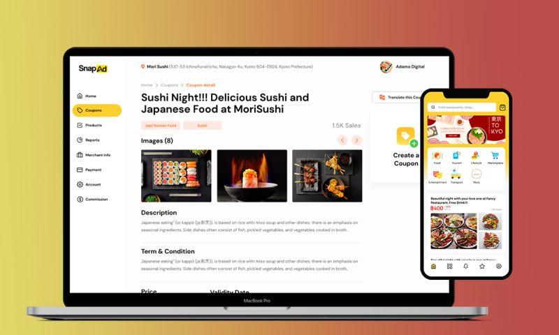 Adamo Digital - SnapAd – online marketplace for deal seekers