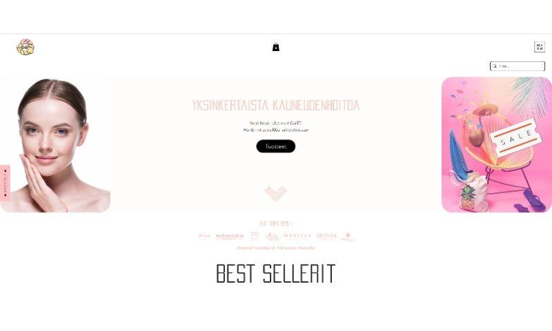 Advertizen - Mihana e-commerce website
