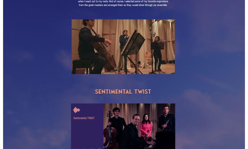 Advertizen - Artist portfolio - Sentiment Twist