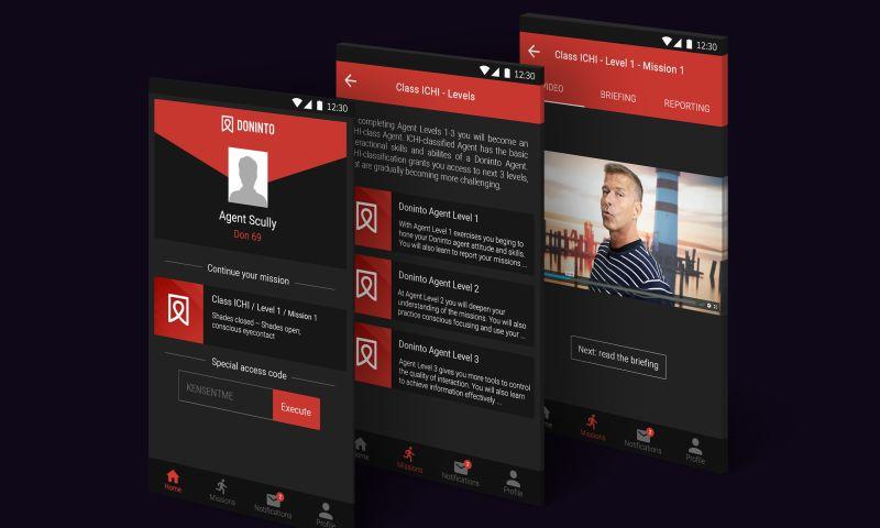 Advertizen - App design