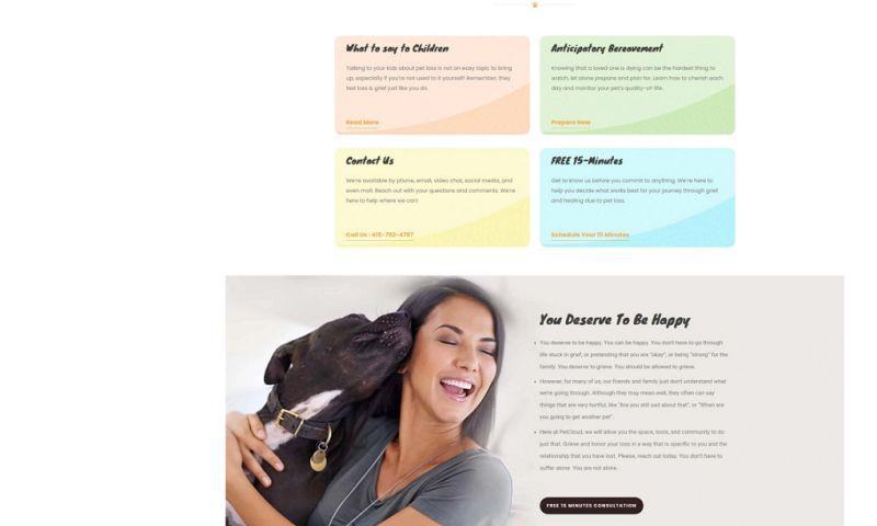 Embtel Solutions Inc - Pet loss grief services!