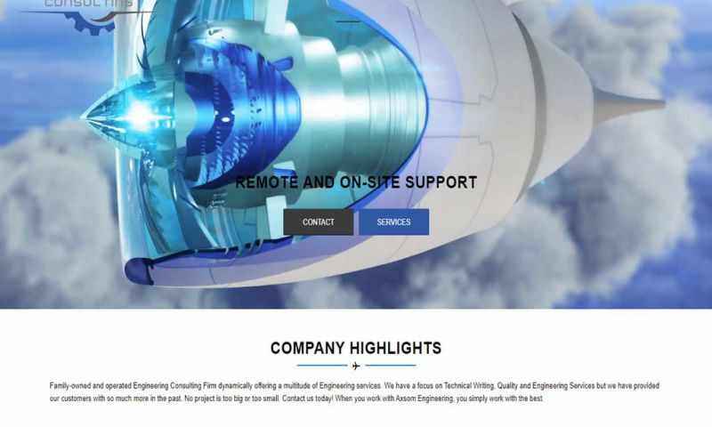 Website Design by Doug Walker - Axsom Engineering Consulting