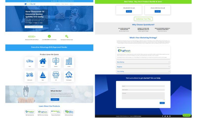 McIvor Marketing LLC - Quoteburst Insurance Software