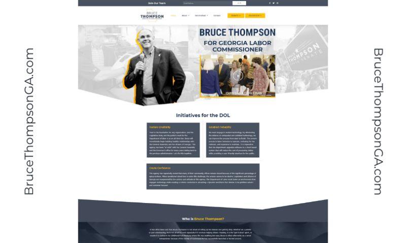 McIvor Marketing LLC - Bruce Thompson for Georgia Labor Commissioner