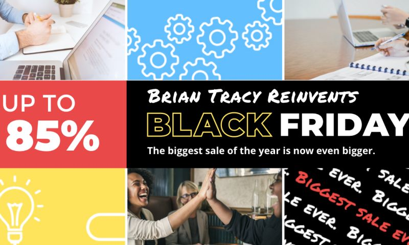 Brandetize - Brian Tracy Reinvents Black Friday