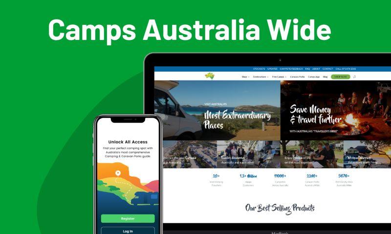 Giraffe Studio Apps - Camps Australia Wide