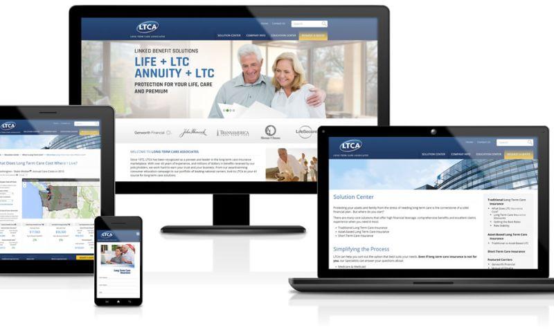 Sandcastle Web Design & Development - Long Term Care Associates