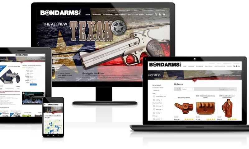 Sandcastle Web Design & Development - Bond Arms