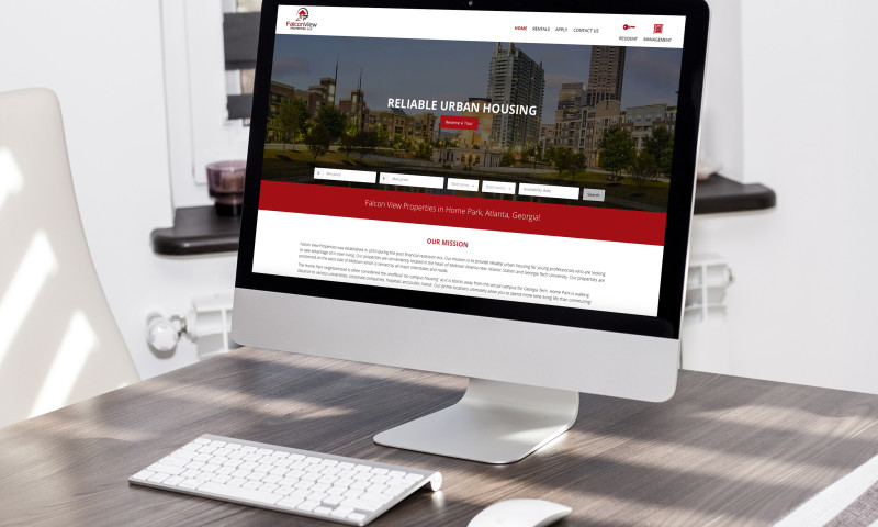 Badie Designs - Falcon View Properties Website