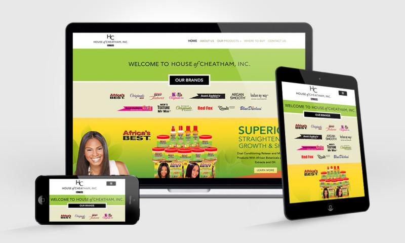 Badie Designs - House of Cheatham Website