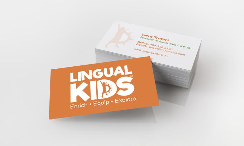 Badie Designs - Lingual Kids Branding