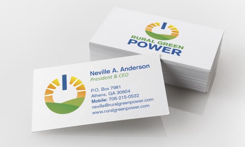 Badie Designs - Rural Green Power Branding