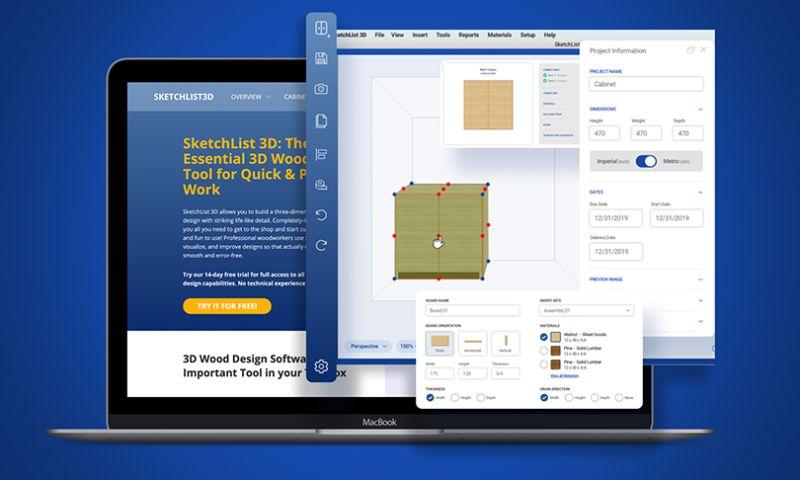Scopic - SketchList 3D Website Design