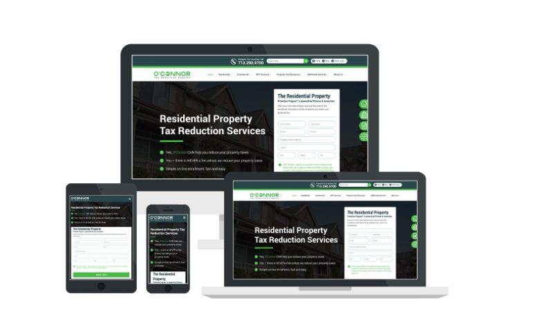 Techna Digital Marketing - POConnor.com Website