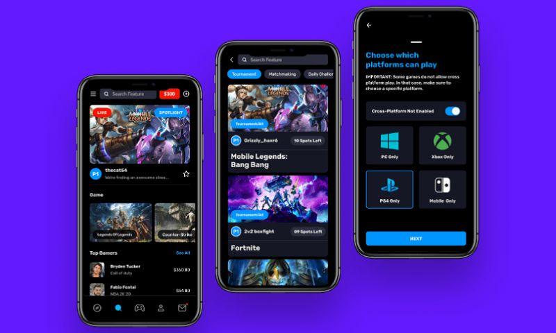 Techcronus Business Solutions Pvt. Ltd. - eSports Gaming Mobile App