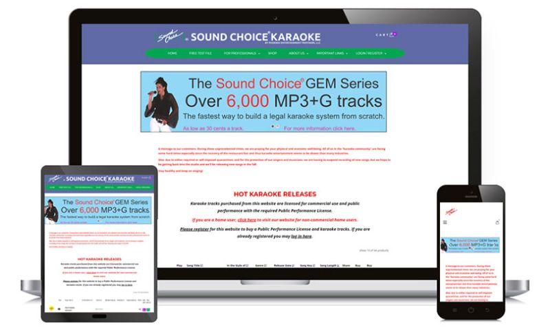 WPWeb Infotech - SOUND CHOICE