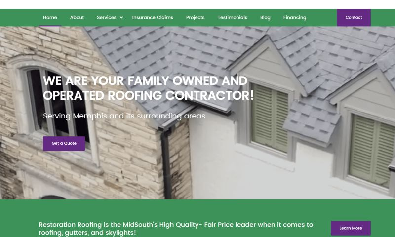 HigherVisibility - Restoration Roofing