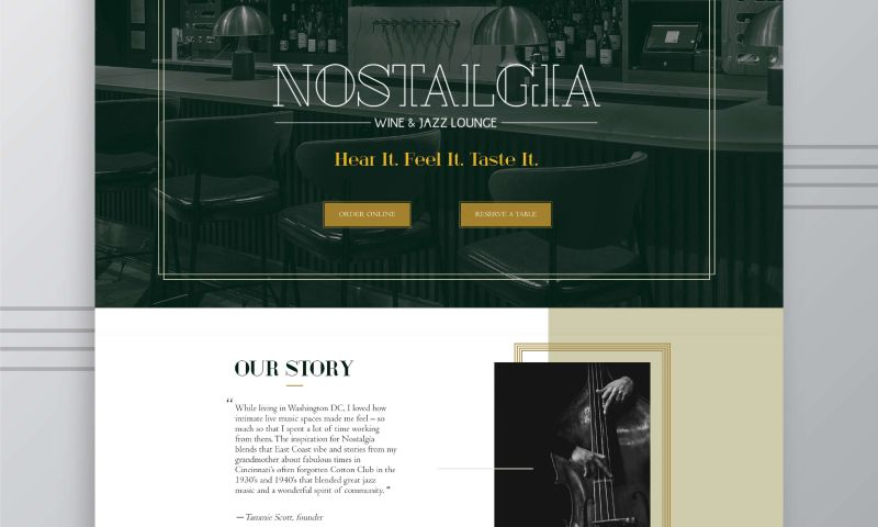 Canned Spinach - Nostalgia Wine and Jazz Lounge