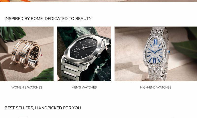 Elliptic Marketing - Bulgari Retailer Catalog
