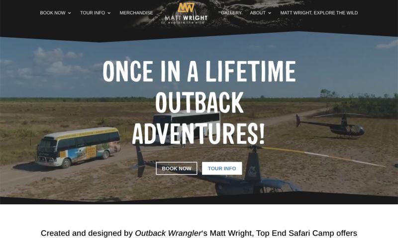 Clickstarter - Top End Safari Camp