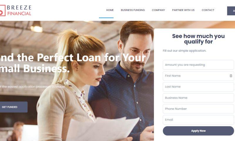 Avista Digital - Web Design Services for Breeze Finacial