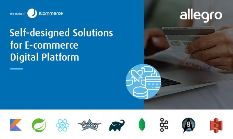 JCommerce - Self-designed Solutions for E-commerce Digital Platform
