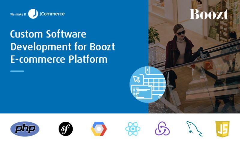 JCommerce - Custom Software Development for Boozt E-commerce Platform