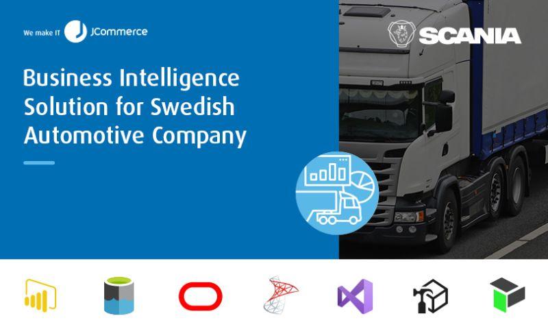 JCommerce - Business Intelligence Solution for Swedish Automotive Company