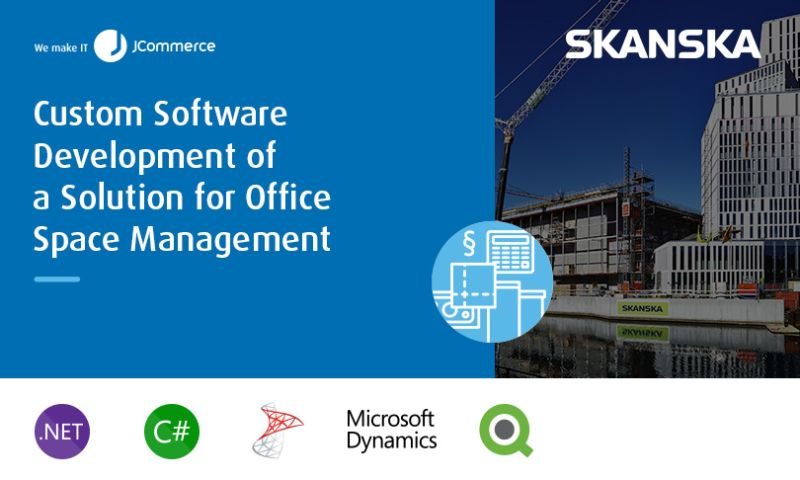 JCommerce - Custom Software Development of a Solution for Office Space Management