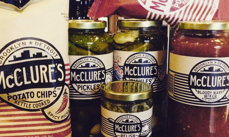 Driven Creative Supply Co. - McClure's Specialty Foods // Brand Development