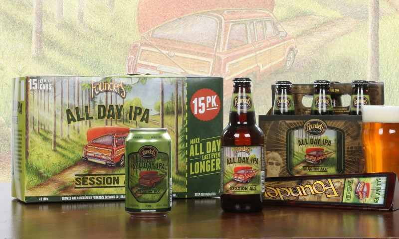 Driven Creative Supply Co. - Founders Brewing Co. // Brand Development