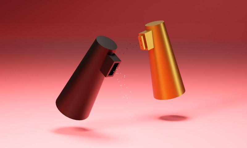 Marco De Masi - Bina & Bino - salt and pepper shakers